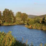 Der Regen am Satzdorfer See (km 88,5)
