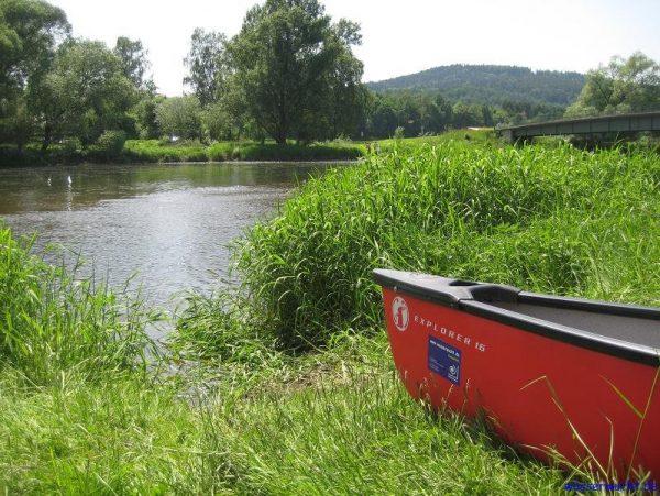 Am Flussfreibad Untertraubenbach