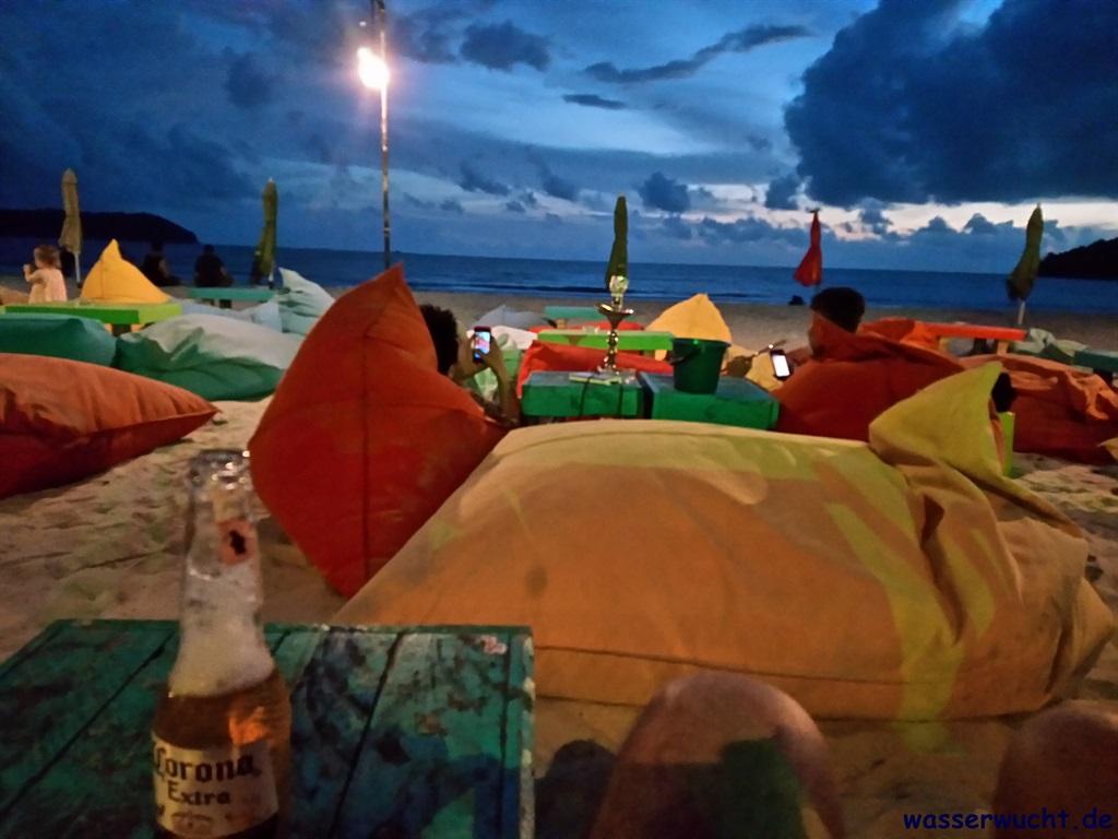 Am Pantai Cenang auf Langkawi