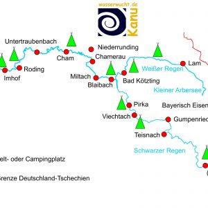 Mittlerer Regen zwischen Blaibach und Roding