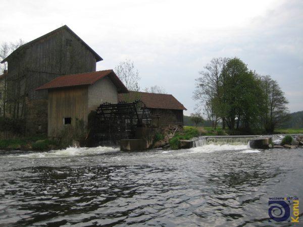 Das Mühlenrad von Dicherling