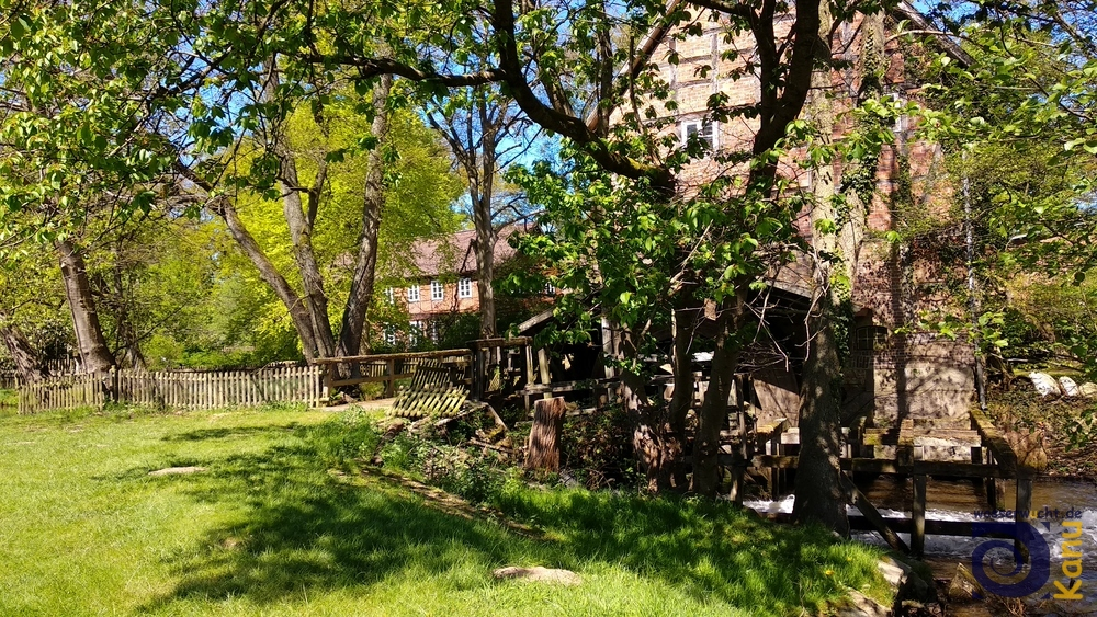 Die Mühle des alten Hofes Thansen