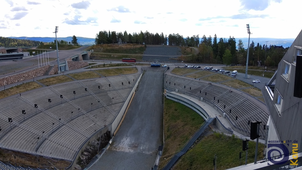Die Holmenkollen-Sprungschanze ist eine Wiege des Wintersports.