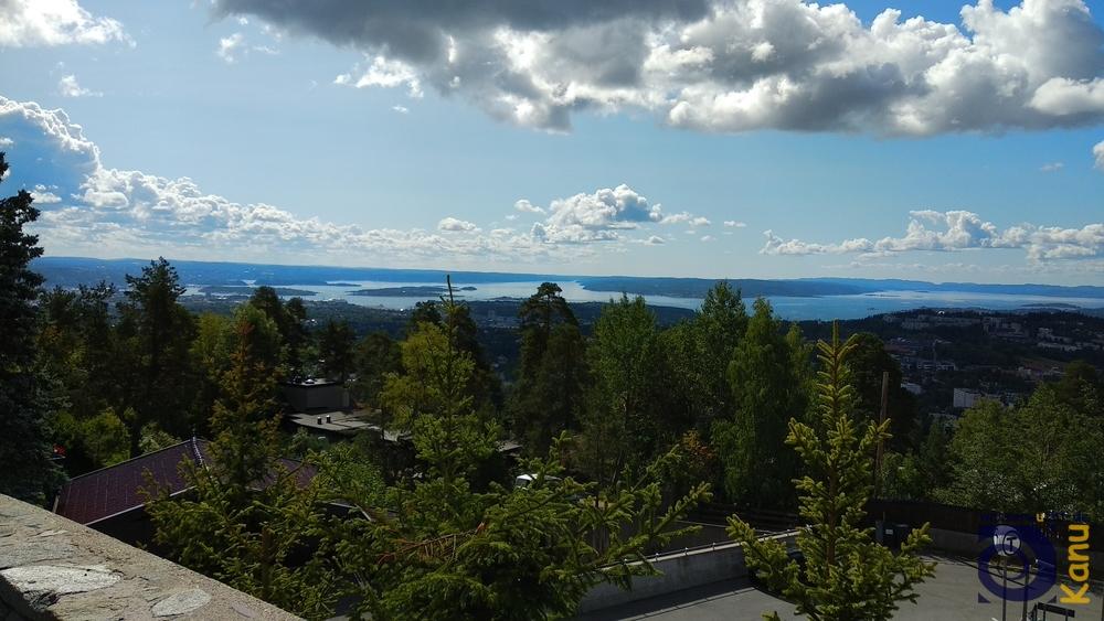 Blick auf den Oslofjord.
