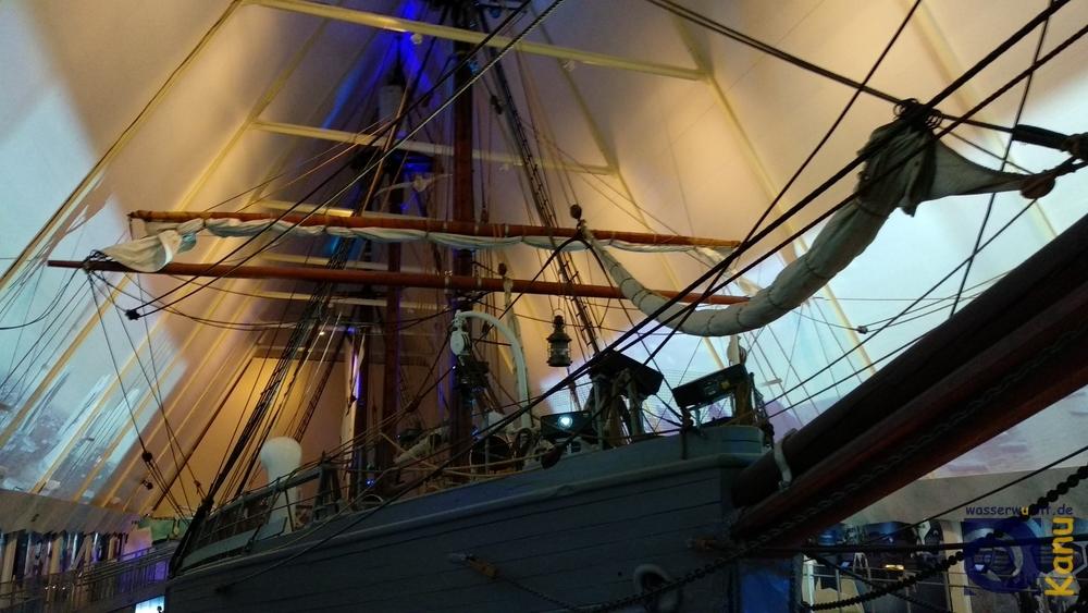 Das Polarforschungsschiff Fram, Oslo.