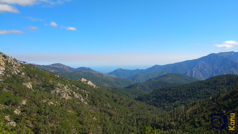 Die grünen Hügel Korsikas
