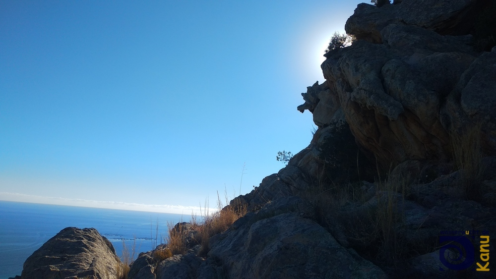 Im Klettergebiet Terre Sacreé bei Ajaccio