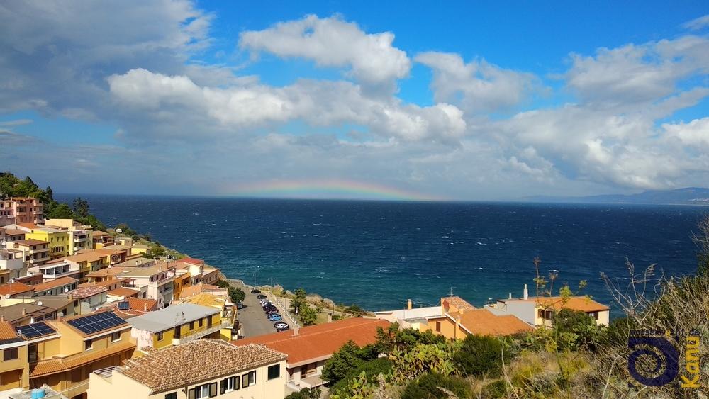 Regenbogen bei Castelsardo