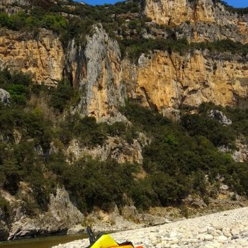 In der Schlucht der Ardèche