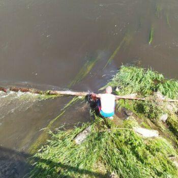 Beseitigen einer Gefahrenstelle nach Hochwasser